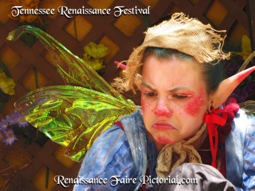sad pouting fairy.